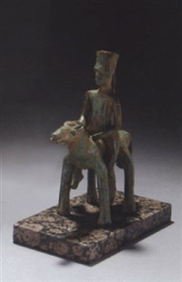 cheval et cavalier by flore joris nadal