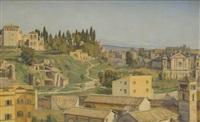roma, veduta del palatino by k.d. mygind