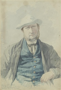 portrait of mr. george bailey by richard dadd