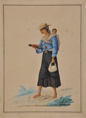 madre e hijo by josé honorato lozano