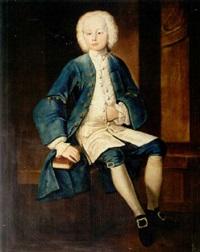 portrait of robert wynne of garthmeilio and plas newydd by john lewis