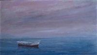lone boat by anne packard