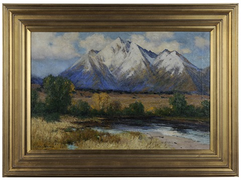 sierra blanca october by charles partridge adams