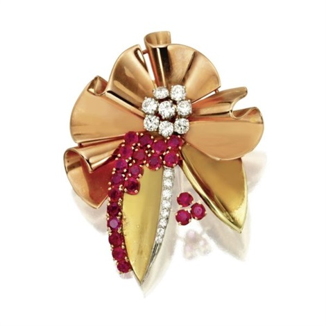 clip brooch by bailey banks and biddle
