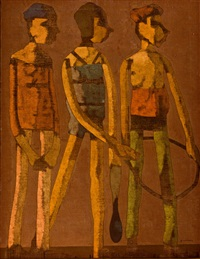 tres figuras by antonio quirós