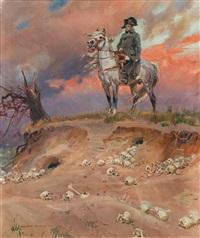 napoleon auf dem schlachtfeld by woiciech (aldabert) ritter von kossak