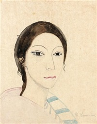 autoportrait ? by marie laurencin