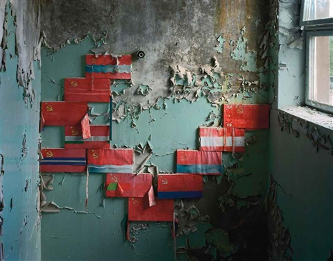 stairwell in school pripyat by robert polidori