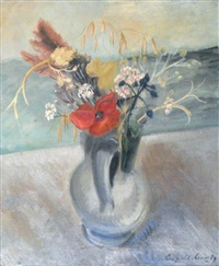 bouquet de fleurs des champs by leopold-levy