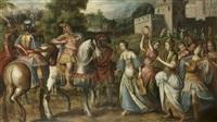 le triomphe de la fille de jephté by flemish school (16)