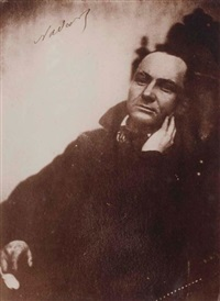 portrait de charles baudelaire au fauteuil by félix and paul nadar
