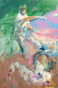 double play by leroy neiman