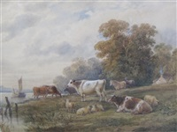 river-side pastures by henry (sr.) earp