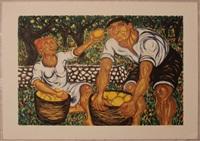 raccoglitori di limoni by giuseppe migneco