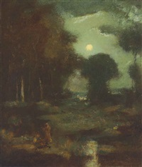 moonlight by elliot daingerfield