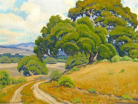 rustic road by arthur hill gilbert