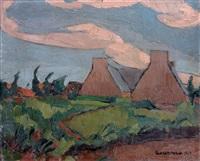côte du nord, maisons à plouarnech by georges hanna sabbagh