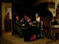 teatime by sipke (cornelis) kool