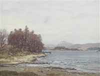 loch awe by george houston