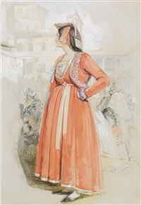 study of a young neapolitan woman in rome by john frederick lewis