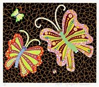 butterflies by yayoi kusama