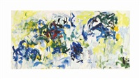 river ii (in 2 parts) by joan mitchell