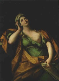 a sibyl by ludovico gimignani