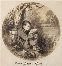 news from home by thomas nast