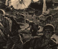 invasion of normandy by albert l. dorne