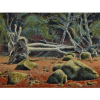 forest and beach by david alexander colville