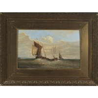 shipping off a pierhead by philip hutchins rogers