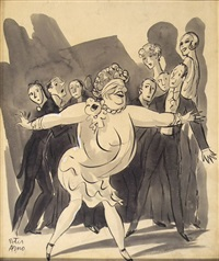 don't help me! don't help me! (new yorker) by peter arno