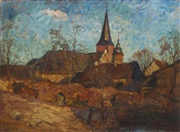 eifeldorf by carl jutz the younger