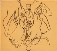 láb és kéz (leg and hand) by lajos vajda