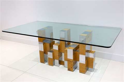 Charmant A 1960s Paul Evans Cityscape Dining Table By Paul Evans