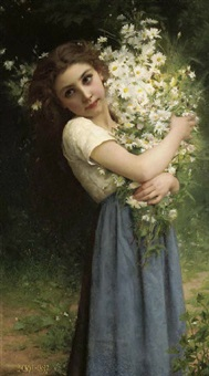 the flower girl by jules cyrille cavé