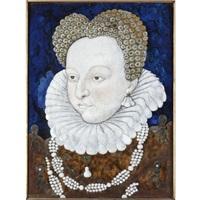 portrait of a noblewoman (duchesse d'etampes?) by léonard limosin