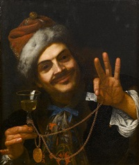 self-portrait of the artist as laughter by pietro bellotti