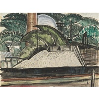 power house dock by arthur dove