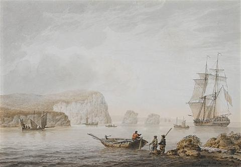 shipping off a coast by samuel atkins