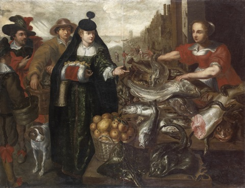 le marche de poisson by frans snyders