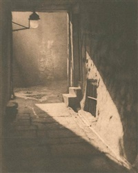 weir's close - edinburgh by alvin langdon coburn