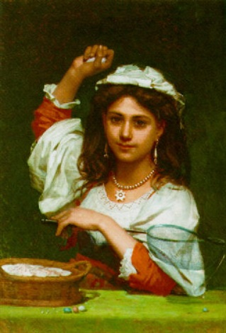 the fortune teller by pierre louis de coninck