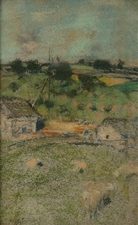 pastoral (helensburgh?) by james guthrie