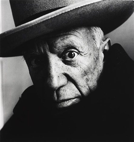 picasso b cannes by irving penn