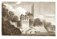 a view of part of the city of benares, upon the ganges (+ 5 others, smllr; 6 works) by william hodges