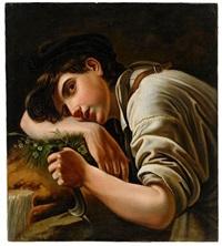 a young gardener by orest adamovich kiprensky