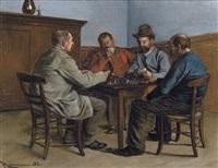 les joueurs de cartes by jan moerman