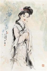 仕女 by bai bohua