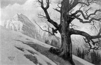 leoganger steinberge, salzburg by bruno hess